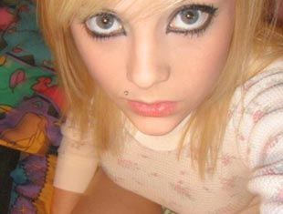 collage shy teen selfie sexting leaked